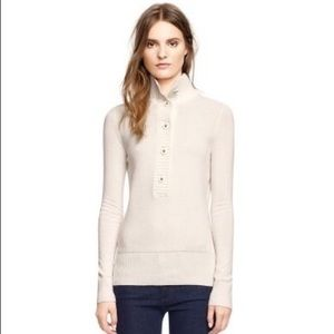Tory Burch | Giselle Mock Neck Sweater in Ivory
